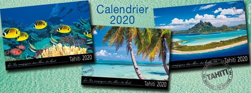 CALENDRIERS 2020 TAHITI ET SES ÎLES