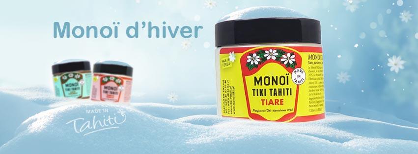 MONOI TIKI TAHITI EN POT POUR L'HIVER