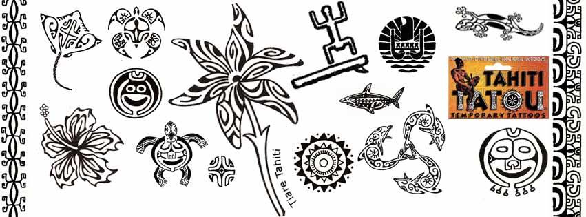 TATOUAGES TEMPORAIRES TAHITI