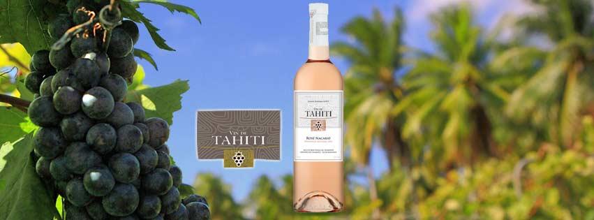 VIN DE TAHITI : ROSÉ NACARAT MILLÉSIME 2017