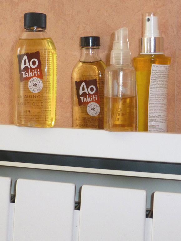 Eau chaude ? Radiateur ? Micro-onde ? Tous les trucs sont bons. Mais notre préférence en saison froide va pour le radiateur qui offre une huile chaude permanente pour votre peau. Et c'est très agréable.