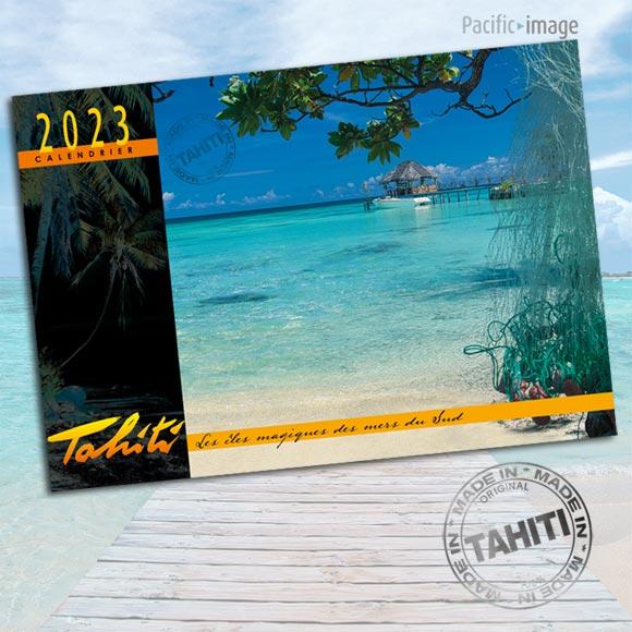 Recto Calendrier 2022 Paysages de Rêve ©Pacific Image