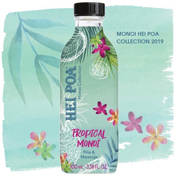 Tropical Monoï : une composition aromatique toute en tendresse, comme une caresse pour la journée.