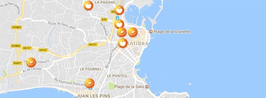 Il existe forcément un point de Retrait Colissimo sur votre lieu de vacances en France.