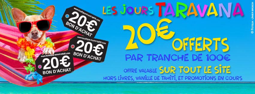 20 € OFFERTS PAR TRANCHE DE 100 €