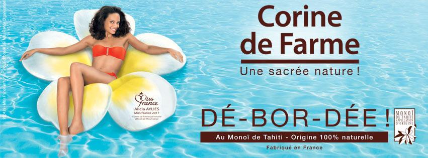 Corine de Farme, la marque beauté choisie par Miss France.