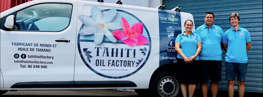 LES COULISSES DE TAHITI OIL FACTORY