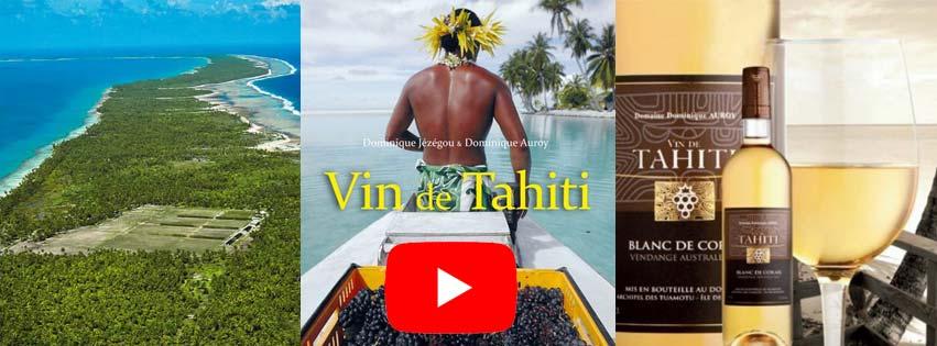 LES VINS DE TAHITI SUR ARTE