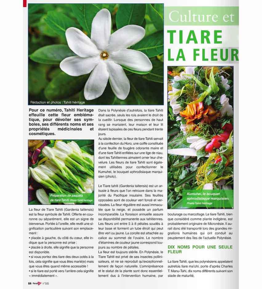 © Tahiti Héritage - Fenua TV