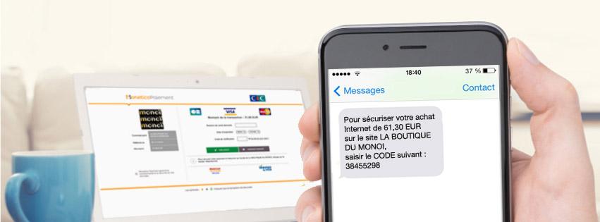 VOUS N'AVEZ PAS REÇU VOTRE CODE SMS ?