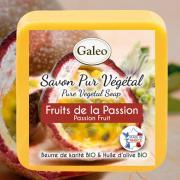 CADEAU SAVON PUR VEGETAL GALEO PASSION 100 G