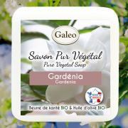 SAVON PUR VEGETAL GALEO GARDENIA 100G