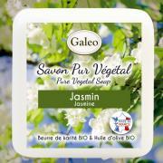 CADEAU SAVON PUR VEGETAL GALEO JASMIN 100G