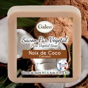 CADEAU SAVON PUR VEGETAL GALEO  COCO 100G