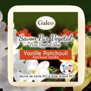 CADEAU SAVON GALEO VANILLE PATCHOULI 100G