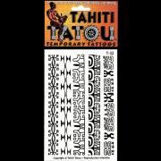 CADEAU TATOU TEMPORAIRE T32 SYMBOLES MARQUISIENS