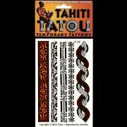 TATOU TEMPORAIRE T37 SYMBOLES MARQUISIENS