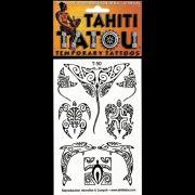 TATOU TEMPORAIRE T50 TORTUE DAUPHINS MAOHI