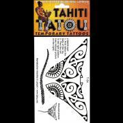 TATOU TEMPORAIRE T54 RAIE MANTA TAHITI