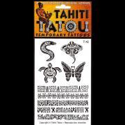 CADEAU TATTOO TEMPORAIRE T42 MOTIFS MAOHI
