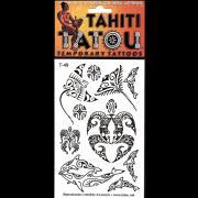 TATTOO TEMPORAIRE T49 MANTA ET DAUPHINS 2