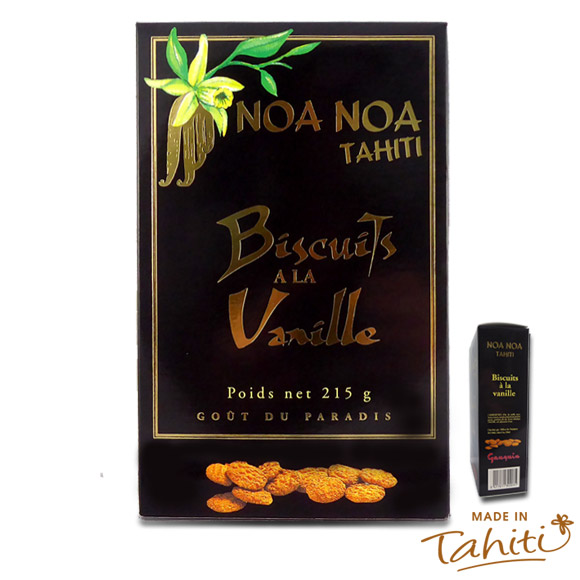 BISCUITS COOKIES A LA VANILLE NOA NOA TAHITI