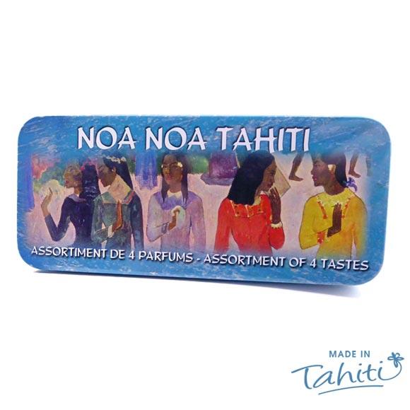 BOITE SACHETS THE NOA NOA TAHITI ASSORTIMENT 4 PARFUMS