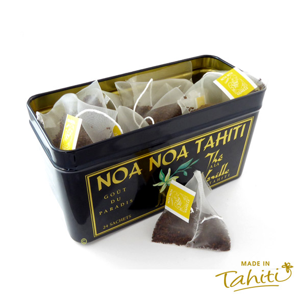 BOITE 24 SACHETS THE NOA NOA TAHITI AROME VANILLE