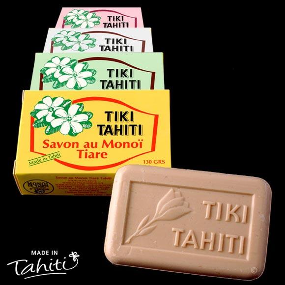 Ces savons contiennent 30% de Monoï de Tahiti Appellation d'Origine. Leur parfum est léger compte tenu de leur haute teneur en Monoï de Tahiti...