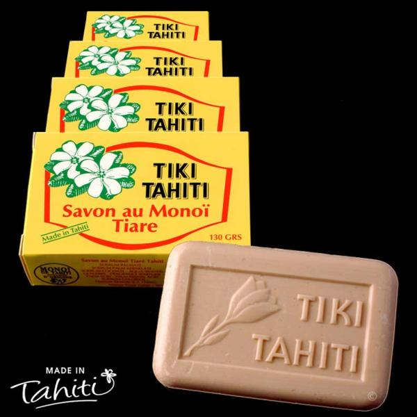 Ce savon contient 30% de Monoï de Tahiti Appellation d'Origine.