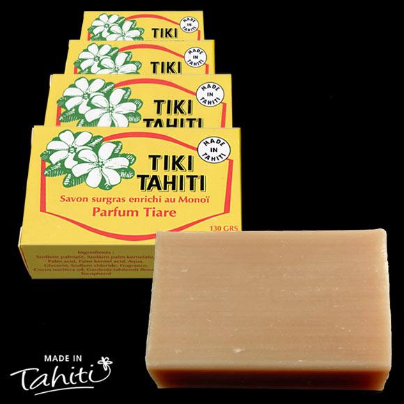 Proposés désormais sans le marquage habituel Tiki Tahiti avec la Fleur de Tiare.