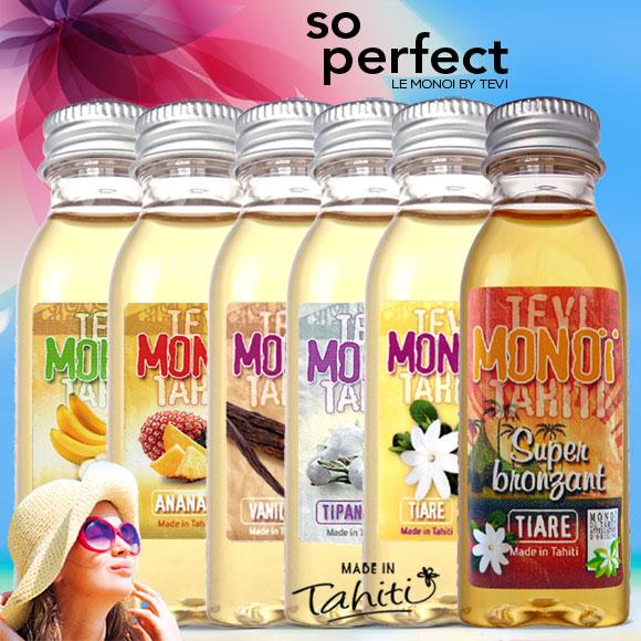 La Boutique du Monoï a sélectionné pour vous ce lot de 6 Monoï Tevi Tahiti d'une contenance de 30 mL.