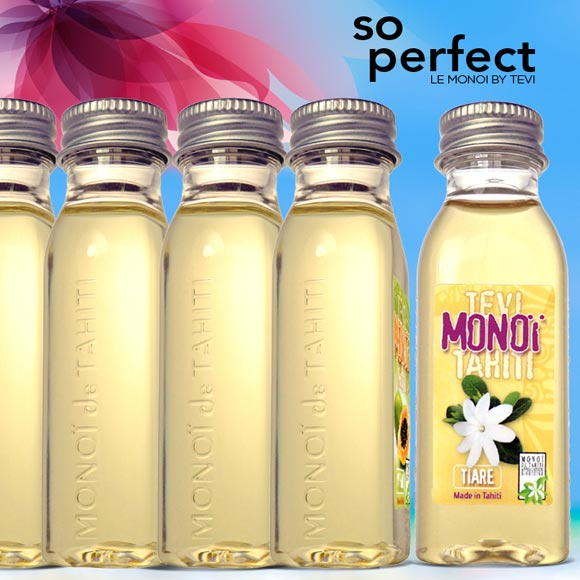 LOT 6 MONOI TEVI TAHITI 6 PARFUMS 30ML