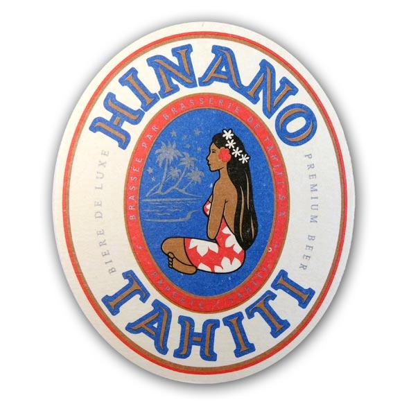 6 SOUS BOCKS HINANO LA BIERE DE TAHITI OFFERT*