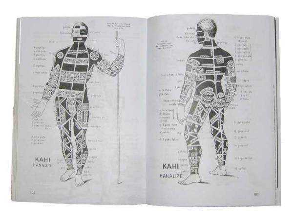 Extrait de l'Art du Tatouage aux Îles Marquises par Karl von den Steinen.