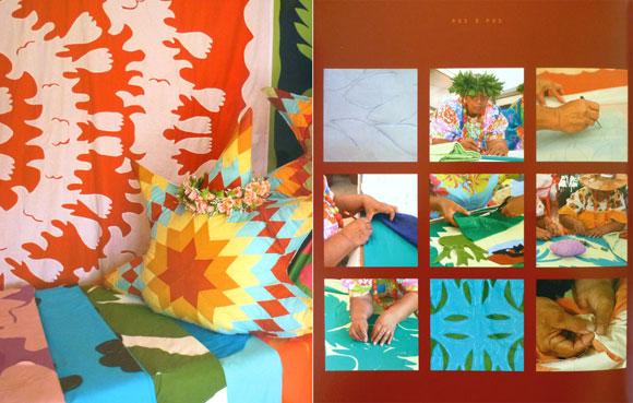 Le Tifaifai © Michèle de Chazeaux - Marie-Noëlle Frémy – Éditions Au Vent des Îles  1ère édition 2012