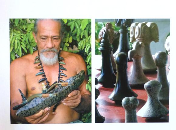 Sculpture © Véronique Mu-Liemann et Lucie Millegrogues – Éditions Au Vent des Îles  2ème édition 2011