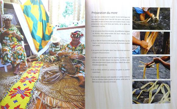 Tressage © Hinanui Cauchois – Éditions Au Vent des Îles  1ère édition 2013