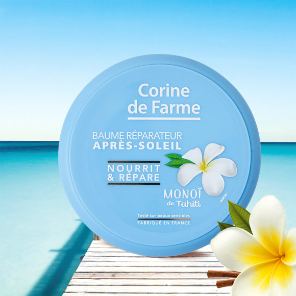 BAUME REPARATEUR APRES SOLAIRE 150ML CORINE DE FARME