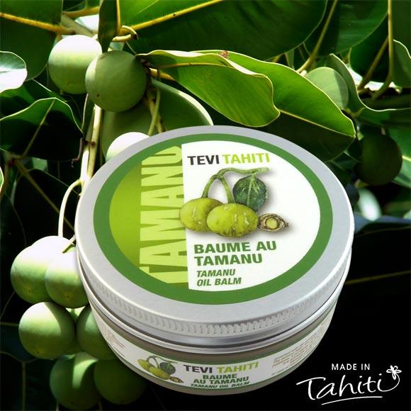 BAUME DE TAMANU TAHITI 100% NATUREL TEVI RAIATEA 60ML