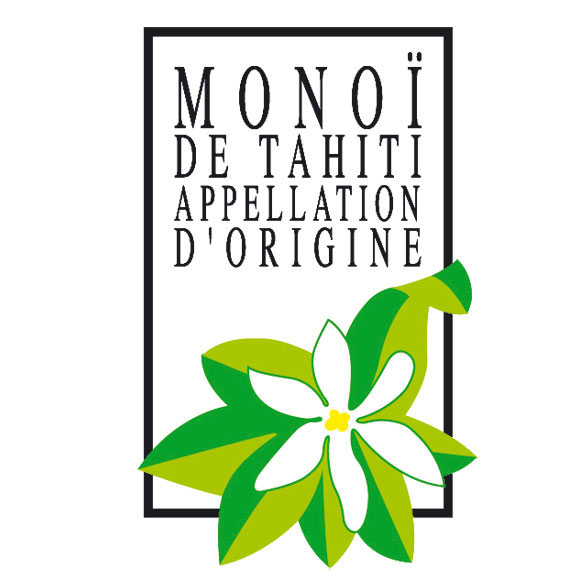 Monoi de Tahiti Appellation d'Origine.
