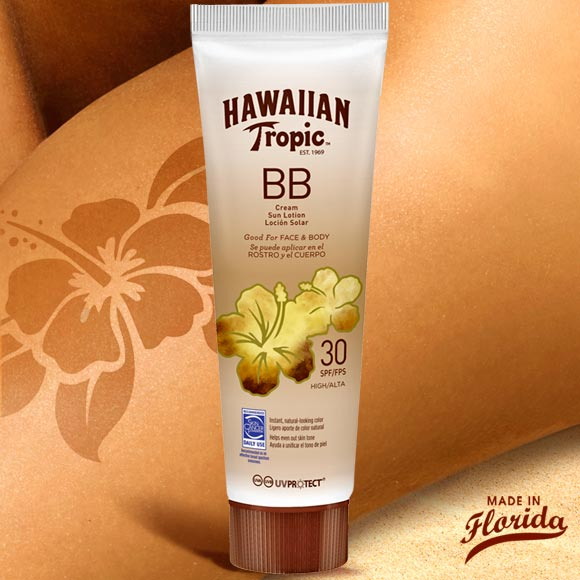 BB CREME CORPS ET VISAGE 150ML HAWAIIAN TROPIC SPF 30