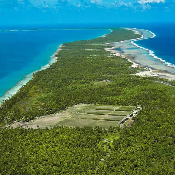 Au fil des millénaires, le corail s'est développé sur les pentes des îles volcaniques du Pacifique pour donner naissance aux atolls des Tuamotu. C'est sur ces terres, à même la barrière de corail, que le Vin de Tahiti est cultivé.
