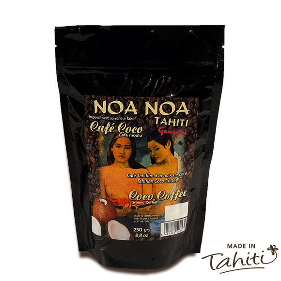 CAFE NOA NOA TAHITI PARFUMÉ NOIX DE COCO 250G