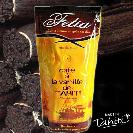 CAFE FETIA À LA VANILLE DE TAHITI 250g