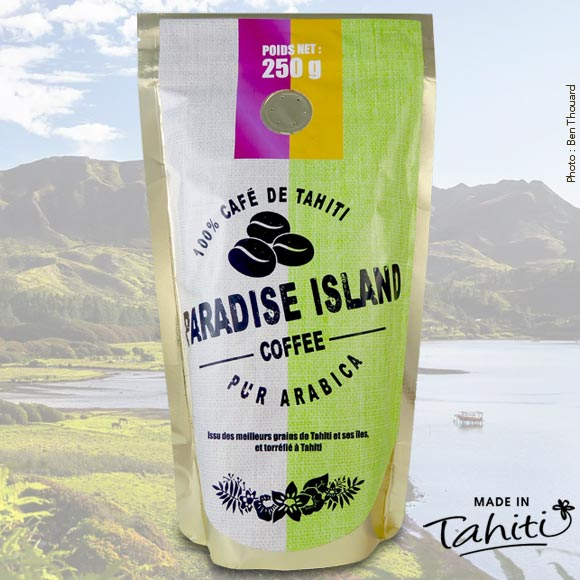 CAFE MOULU FETIA PARADISE ISLANDS AUSTRALES 250G