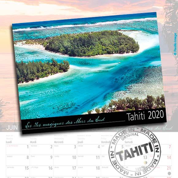 CALENDRIER TAHITI ET SES ÎLES 2020 LE CLASSIQUE A6