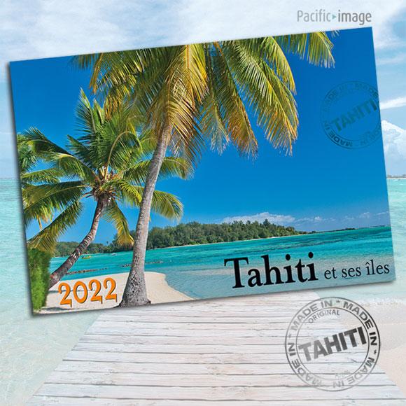 VERSO CALENDRIER TAHITI ET SES ÎLES 2022 LA CLASSIQUE A4