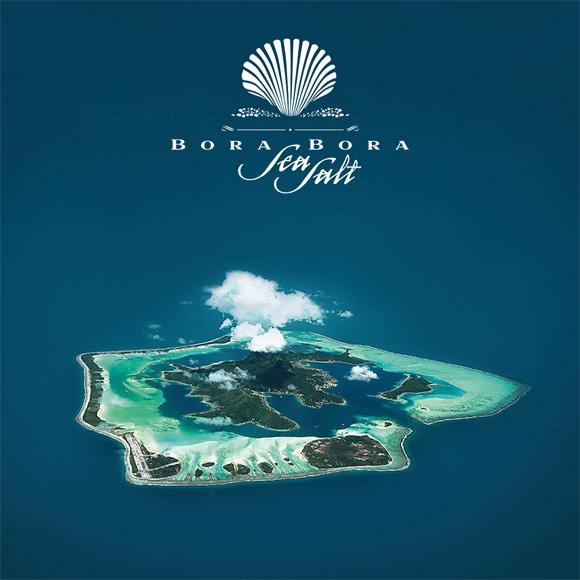 Sel de Bora Bora en provence de Polynesie française