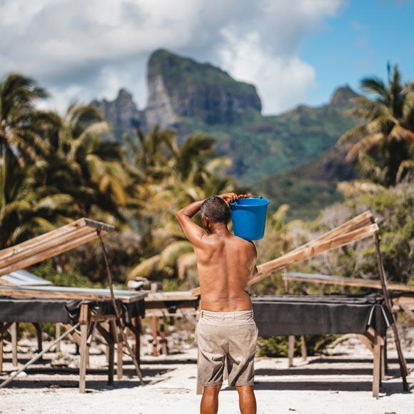 Sel de Bora Bora 100% Naturel